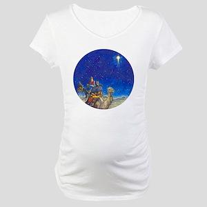 NU Magi Ornament [Circle Aug] -  Maternity T-Shirt